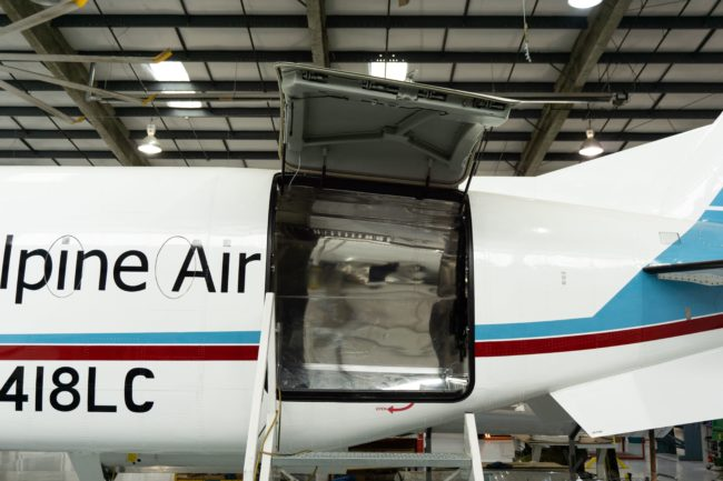 Alpine Super Freighter Beechcraft 1900D Cargo Conversion STC